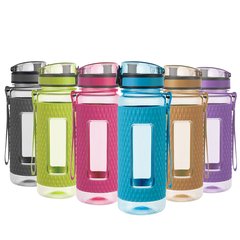 UZSPACE Shaker Water Bottle
