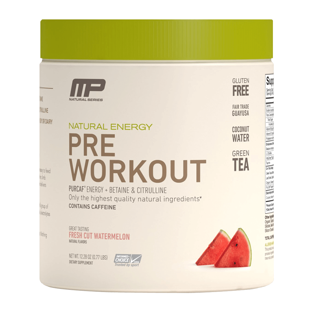 Pre - Workout Natural Energy
