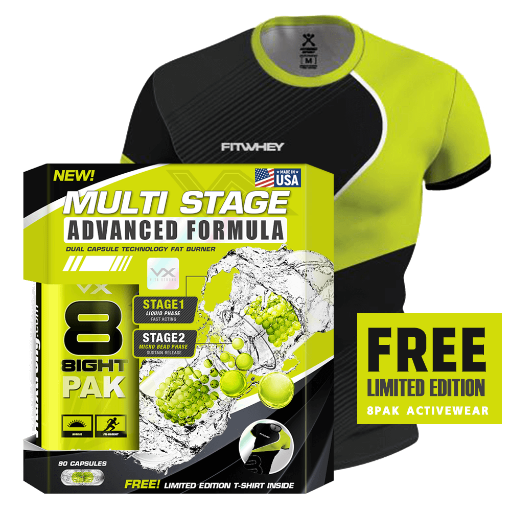 8 PAK Multi Stage Fat Burner