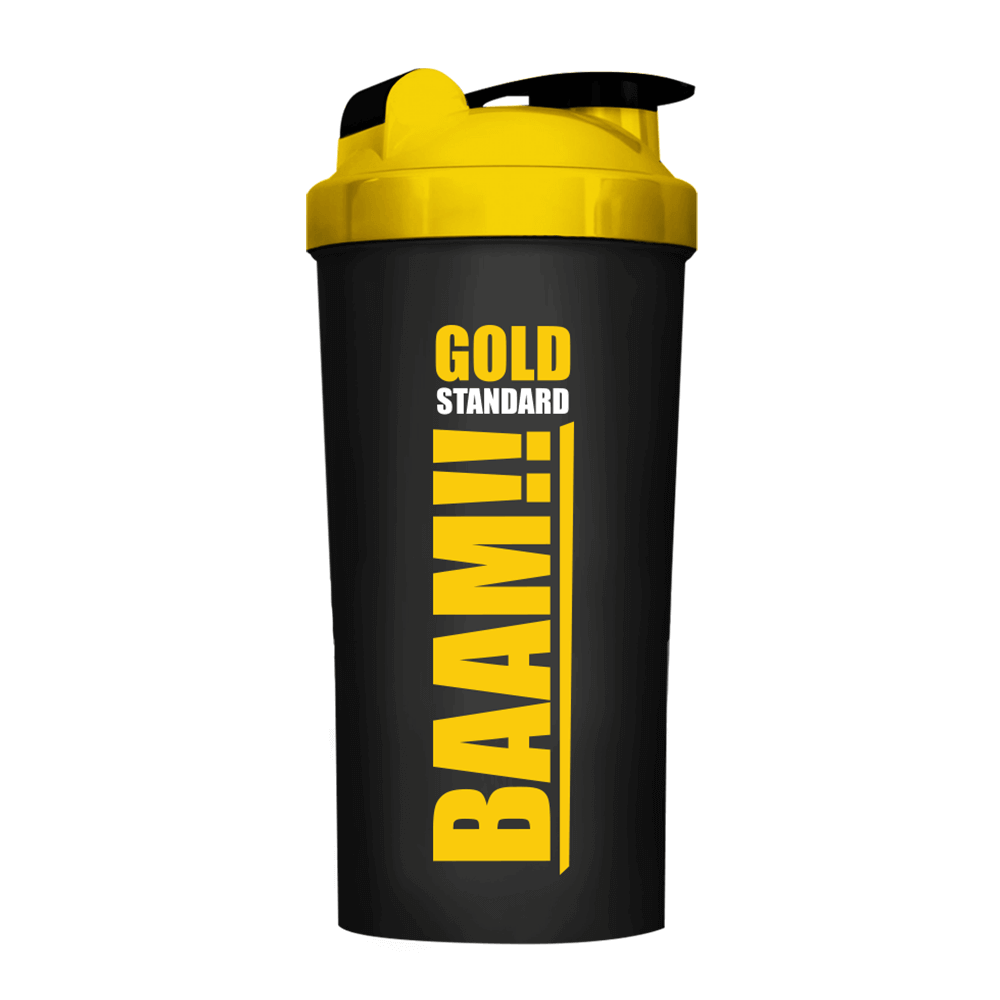 FITWHEY Shaker NEW BAAM GOLD Shaker (Black Edition)
