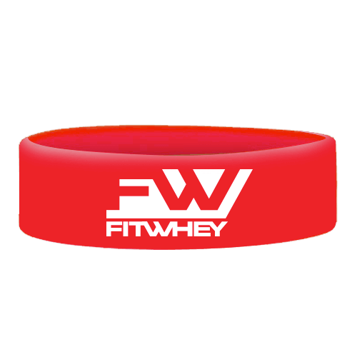 Wristbands Fitwhey - Red