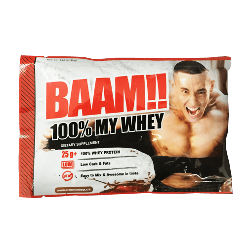 BAAM 100% MY WHEY Double Rich Chocolate