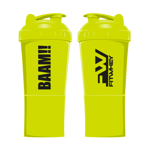 Freebies Special BAAM Shaker 2 in 1 20 oz Neon Green(new)