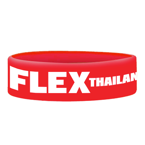 Wristbands Flex Thailand - Red