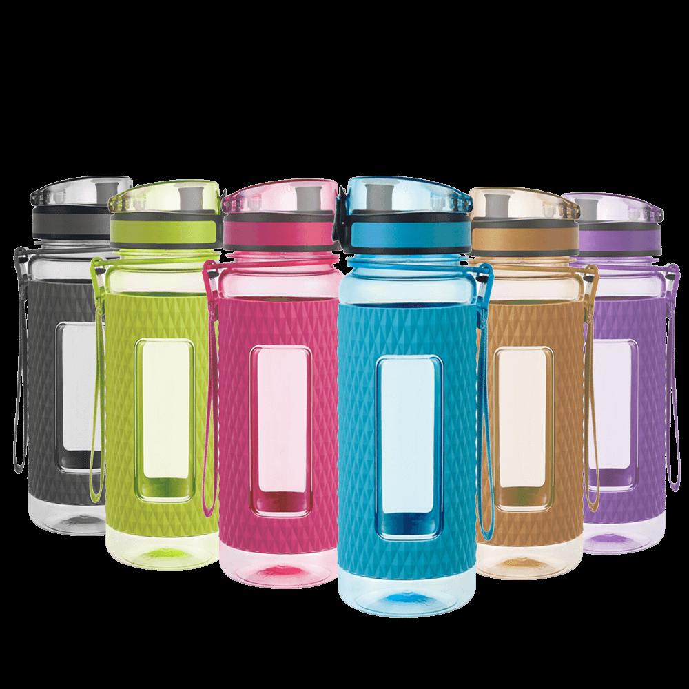 UZSPACE Shaker Water Bottle