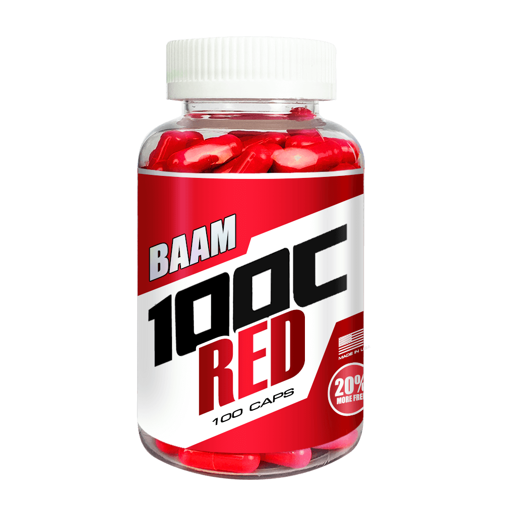 100C RED