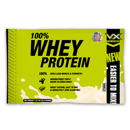 100% Real Whey Protein Vanilla