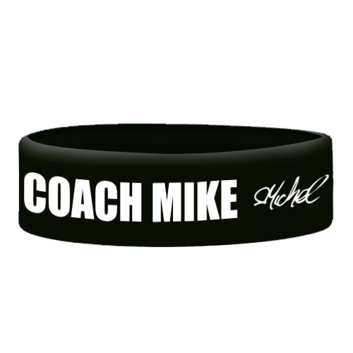 Wristbands Fitwhey/Coach Mike - Black