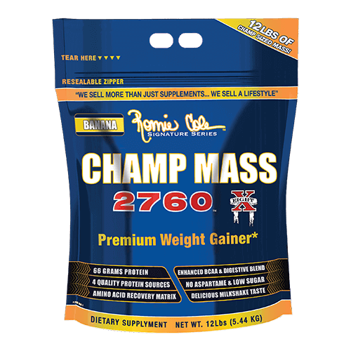 CHAMP MASS 2760