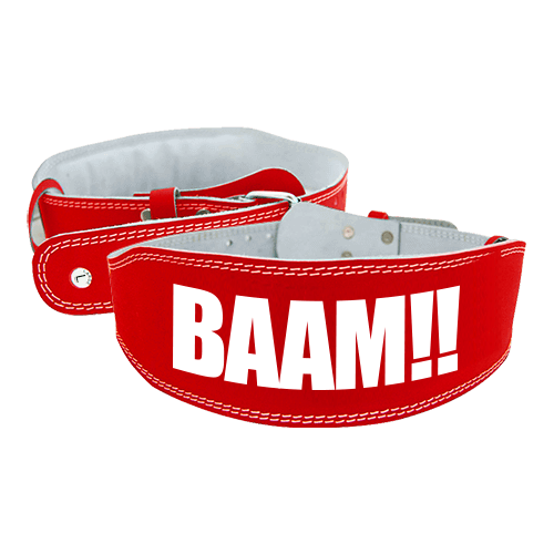 BELT BAAM RED BELT L