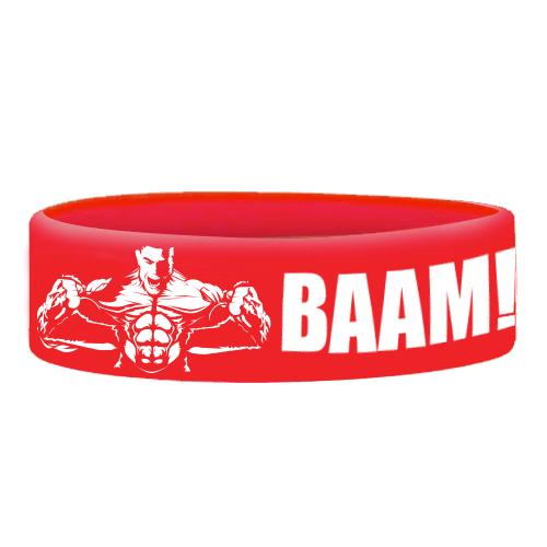 Wristbands BAAM RED