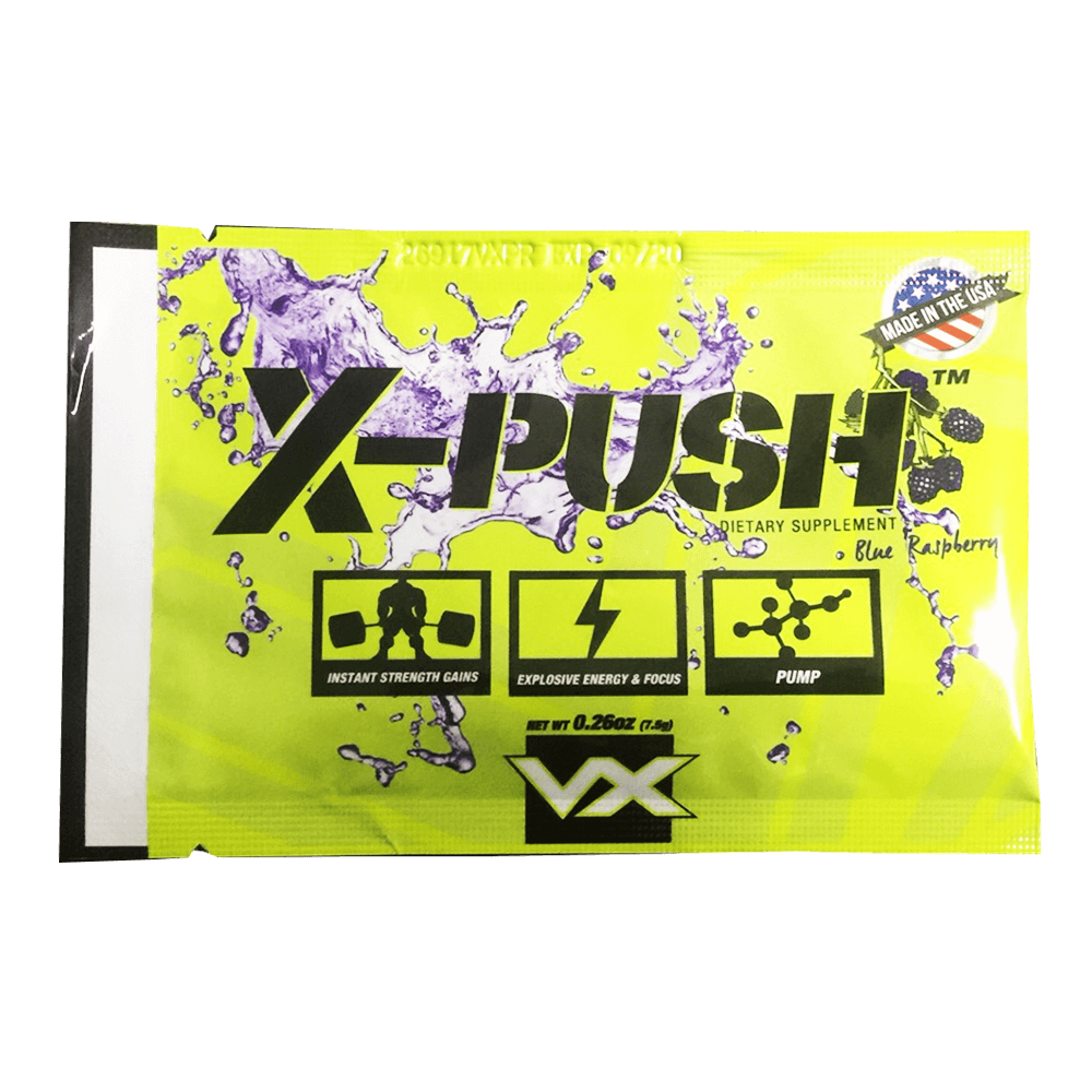 X - PUSH BlueRaspberry