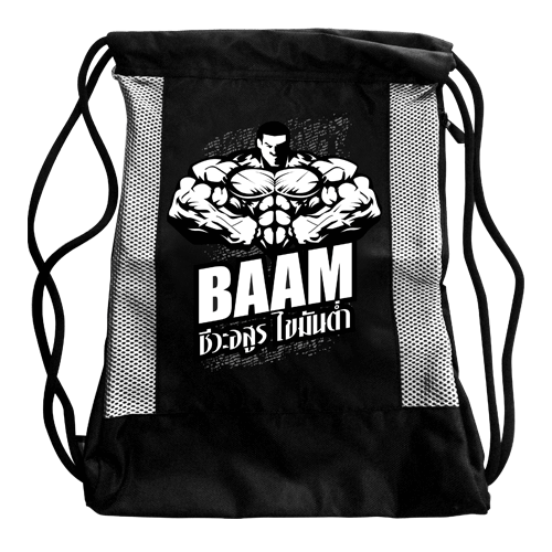 Freebies Special Sling Bag (NEW) BAAM!! BLACK/WHITE