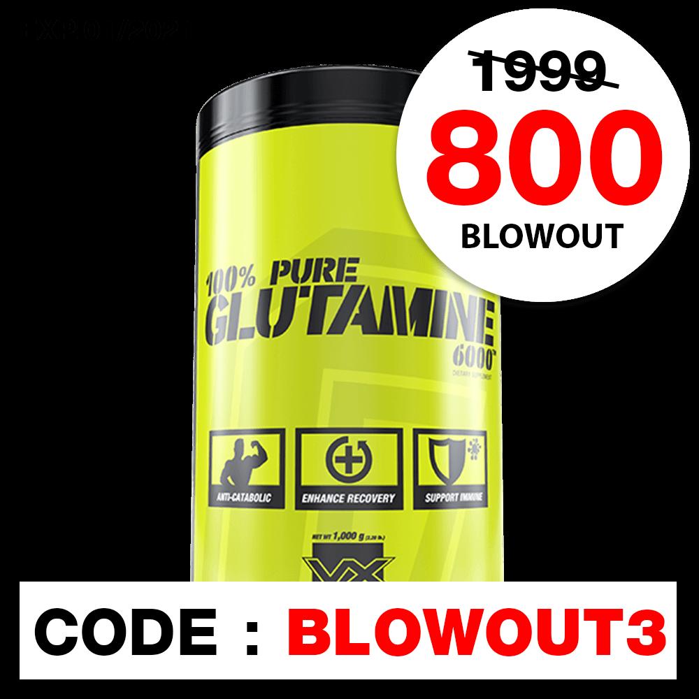 100% GLUTAMINE 6000