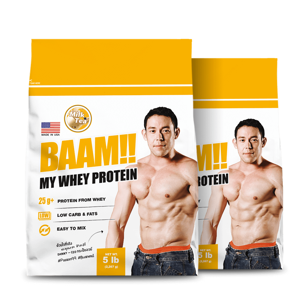 BAAM!! MY WHEY THAI SERIES