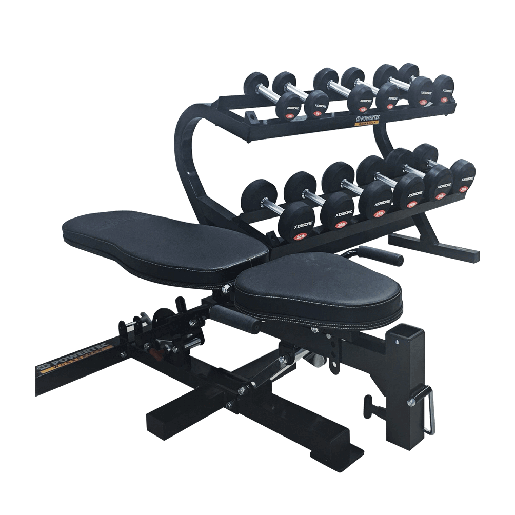 POWEETEC DUMBBELL RACK FULL SET