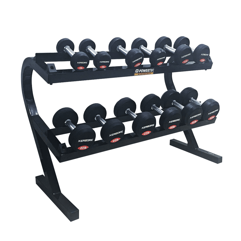 POWEETEC WB DUMBBELL RACK