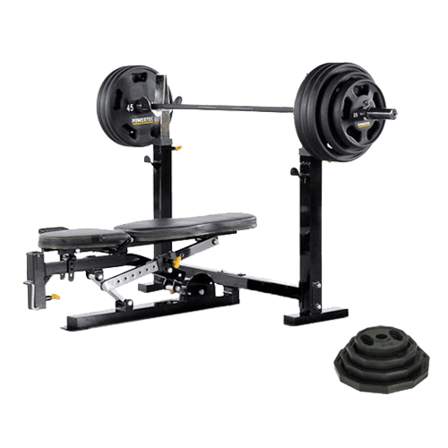 POWERTEC OLYMPIC BENCH SET